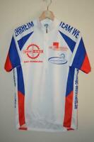 RETRO SMS SANTINI TEAM WEHRHEIM MULTI COLOURED CYCLING JERSEY MENS XXL
