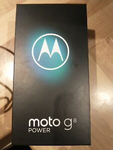 Motorola Moto G8 Power - 64GB - Smoke Black (Unlocked) (Dual SIM]