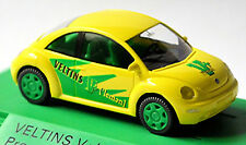 VW NEW BEETLE VELTINS V + LEMON promotioncar 2002 1 GIALLO: 87 Wiking