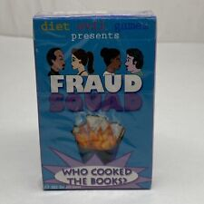 Fraud Squad Diet Evil Games Who Cooked The Books Playing Cards 2002