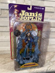"Janis Joplin Action Figure McFarlane Toys Singer Spawn Super Stage 6"" 2000"