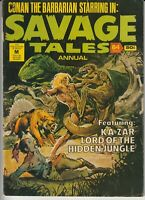 Australian Comic: Savage Tales Annual #16 Murray Comics 1978 Conan The Barbarian