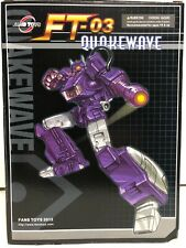 Fanstoys Quakewave Shockwave FT-03 With Add Ons