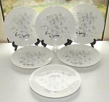 Wedgwood China Wild Oats w4166  6 x Luncheon Plates 23cm