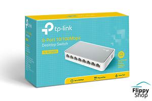 Switch Ethernet 8 Ports TP-Link 100 Mbps Réseau Switch Hub RJ45 multiprise