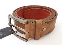 ds Cinta Cintura Uomo Pelle Marrone A-619 Elegante Glamour Fashion Serpente hac