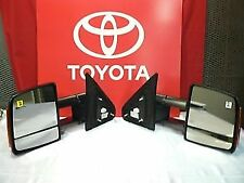 OEM Toyota Tundra Power Towing Mirror Set 87910-0C221 87940-0C221 FITS 2009-2018