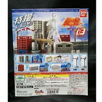 BANDAI Ultimate structure 03 Gashapon 7 set Japan mini figure capsule toys