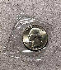 1982 P  Washington Brilliant Uncirculated Quarter, Issued with Souvenir Mint Set