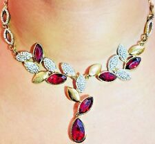 WOMEN FASHION-DESIGNER NECKLACE SET-  HANDMADE -American Diamond -MODE4EVER