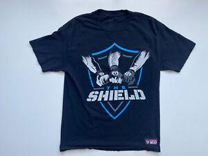 WWE The Shield Shirt Men's Dean Ambrose Roman Reigns Seth Rollins Size Medium