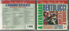 Used CD - BERNARDO BERTOLUCCI Double Feature - Ennio Morricone - DRG