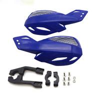 7/8'' Universal Motorcycle Dirt Bike ATV Handle Bar Hand Guard Protector Blue