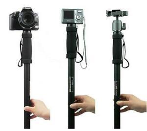 "New 70"" Pan Head Travel Monopod Adjustable Digital Camera Lightweight Stand"