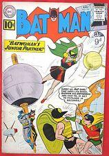 Batman 141 DC Silver Age 1961 2nd Batgirl appearance 1st Clockmaster
