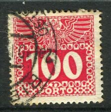 Mint Hinged Postage Due Austrian Stamps