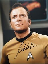 *NEW* William Shatner Captain Kirk Star Trek Signed Photo COA & Proof B