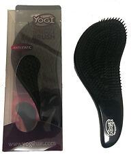 Yogi Silver Detangle Tangle Free Brush and Mane Tamer Comfy Grip Hair Teaser