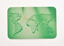 Rolex 2002-2003 Calendar Card