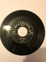 Eartha Kitt Santa Baby & Under the Bridges of Paris RCA VICTOR 45 RPM Record