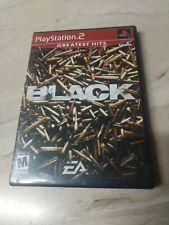 Black PlayStation 2 PS2 EA