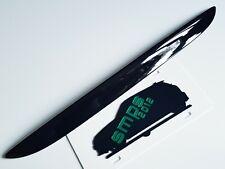 Mini Gen 1, R50/R53 Boot Handle cover Gloss Black de-chrome blackout 2001-2006