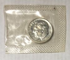 New listing 1956 P Roosevelt Silver Uncirculated Dime In Cellulose