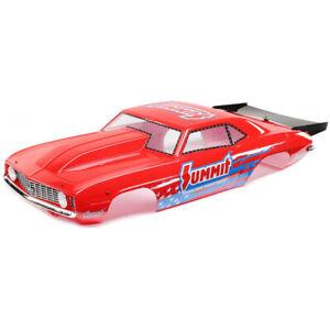 Losi LOS230088 69' Camaro Body Set Summit Red : 22S Drag Car