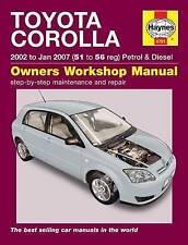 Toyota Corolla Car Manuals and Literature