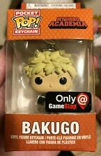 Funko Pocket Pop! Keychain My Hero Academia Bakugo Gamestop Exclusive Figure