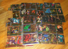 1995 Marvel Metal Trading Cards COMPLETE BASE SET, #1-138 - Fleer