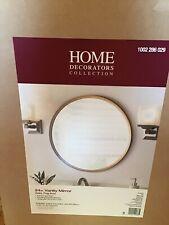 """24"""" Round Mirror Gold Fog Free Bedroom Bathroom Vanity Very Nice"""