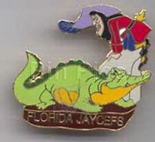 Captain Hook and TicToc Peter Pan Florida Jaycees Disney pin