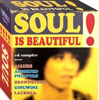 Compilation CD Sampler Soul Is Beautiful ! - Promo - France (EX/EX)