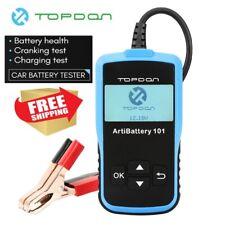 Car Battery Load Tester Digital Analyzer Charging Cranking Test 12V 100-2000 CCA