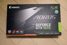 GIGABYTE AORUS GeForce GTX 1070 8GB Gaming Graphics Card