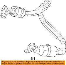 Ram CHRYSLER OEM 12-17 1500 5.7L-V8-Catalytic Converter 68139891AC