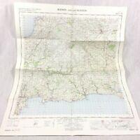 1967 Vintage Militare Mappa Di Bodmin Launceston St Austell Liskeard East Looe