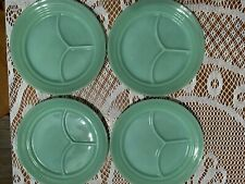 fire king jadeite divided plate, 4 , non smoking home. Restaurant Oven Ware