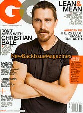 GQ 6/09,Christian Bale,June 2009,NEW