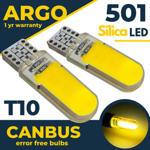 For Bmw Mini Cooper Hatchback Yellow Led Interior Footwell Light Bulbs 2006-13