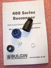 QTY (4) PX0410/04P/4550 BULGIN 4 POSITION IP68 SEALED PLUG CONNECTORS ROHS