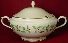 LENOX china HOLIDAY pattern TUREEN with Married LID (see complete listing)