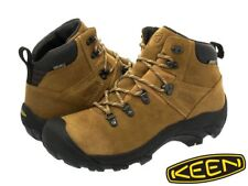 Keen Pyrenees Hiking Boots Waterproof Leather Latte Mens Sz 10