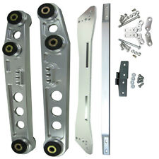 FIT Honda Civic 92-95 EG Silver Rear Lower Control Arm Subframe Brace Tie Bar