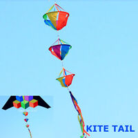 Rainbow Wind Spinner Windsock Kite Tail Colorful Garden Yard Outdoor Kid