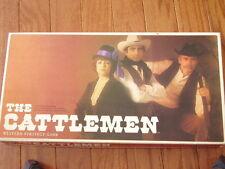 The Cattlemen Board Game Vintage 1977
