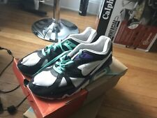 NIKE AIR STRUCTURE 318088-011 TRIAX '91 BLACK WHITE MINT PURPLE in SIZE 9.5