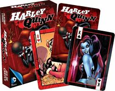 Harley Quinn set of 52 playing cards (+ jokers) (red box version) (nm 52368)