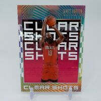 2019-20 Panini Illusions Clear Shots Pink James Harden #11